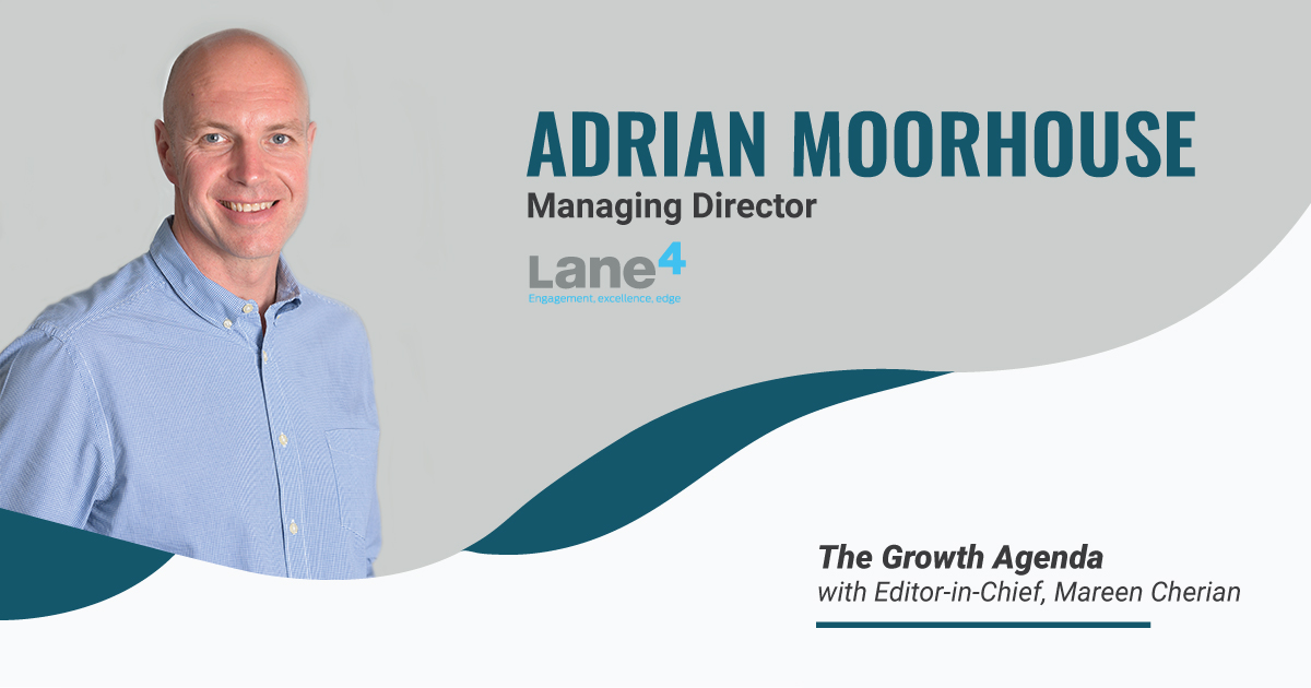 Q&A with Adrian Moorhouse, Managing Director at Lane4 Management Group