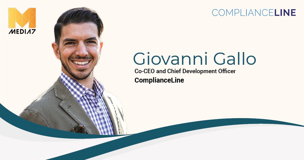 Q&A with Giovanni Gallo, Co-CEO and Chief Development Officer at ComplianceLine