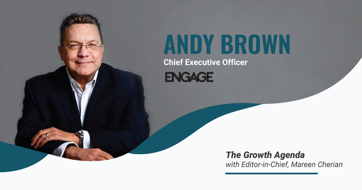Q&A with Andy Brown, CEO at Engage