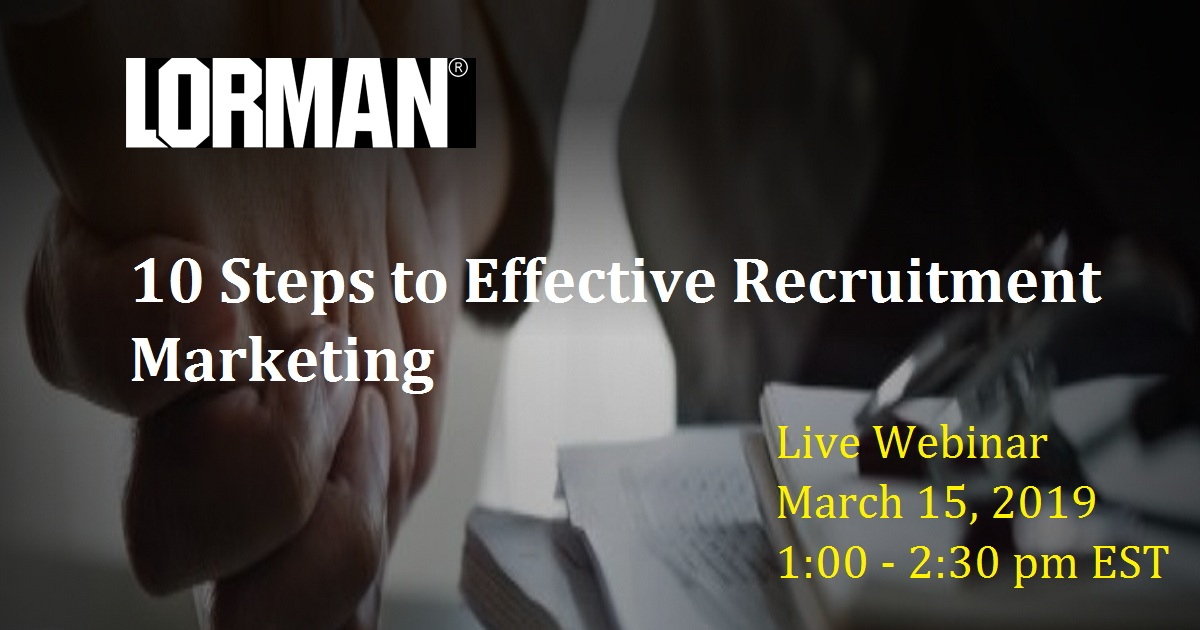 10 Steps to Effective Recruitment Marketing