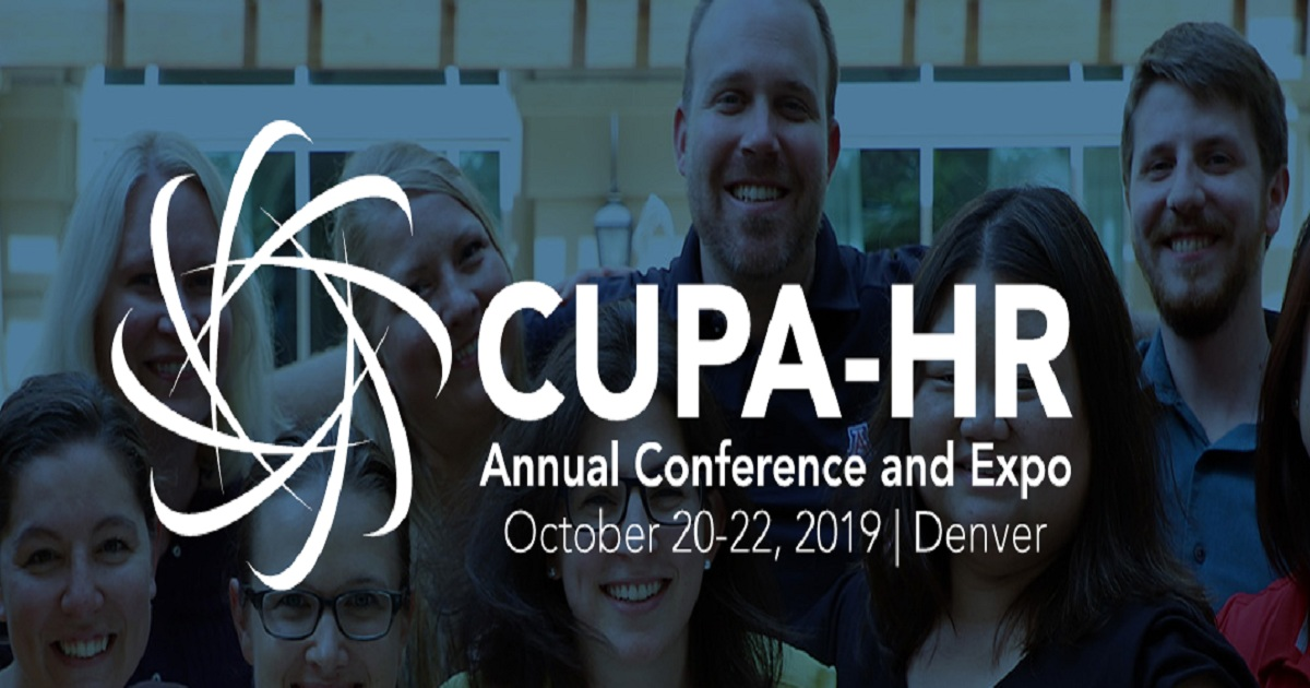 CUPA-HR Annual Conference 2019