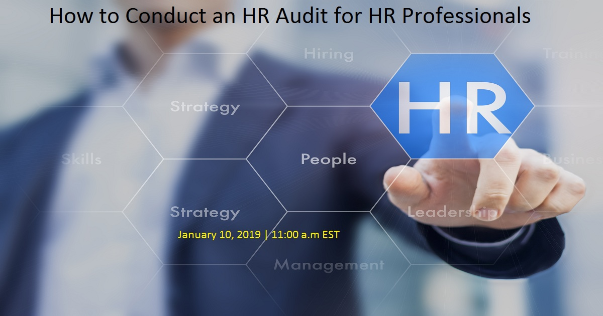 How to Conduct an HR Audit for HR Professionals