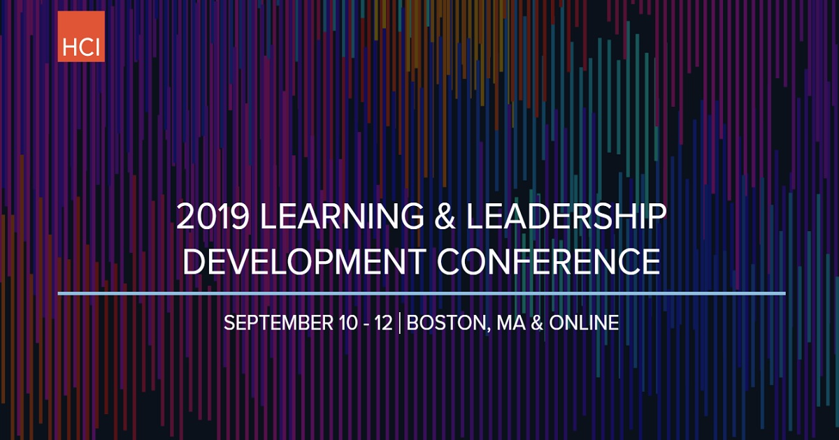 2019 LEARNING & LEADERSHIP DEVELOPMENT CONFERENCE
