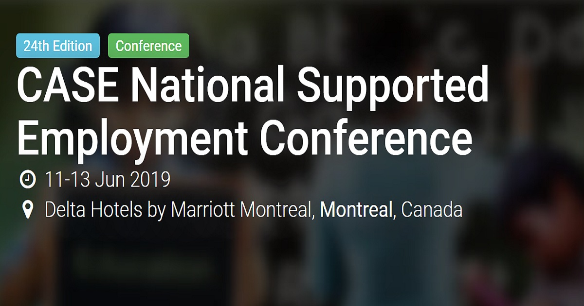 CASE National Supported Employment Conference