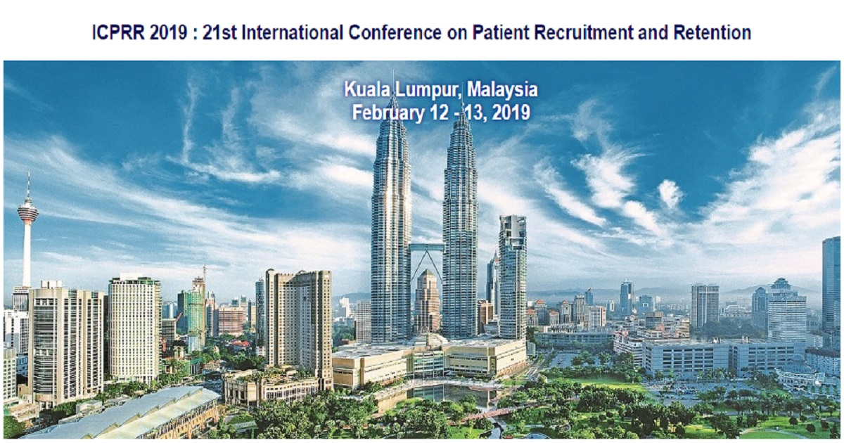 ICPRR 2019 : 21st International Conference on Patient Recruitment and Retention