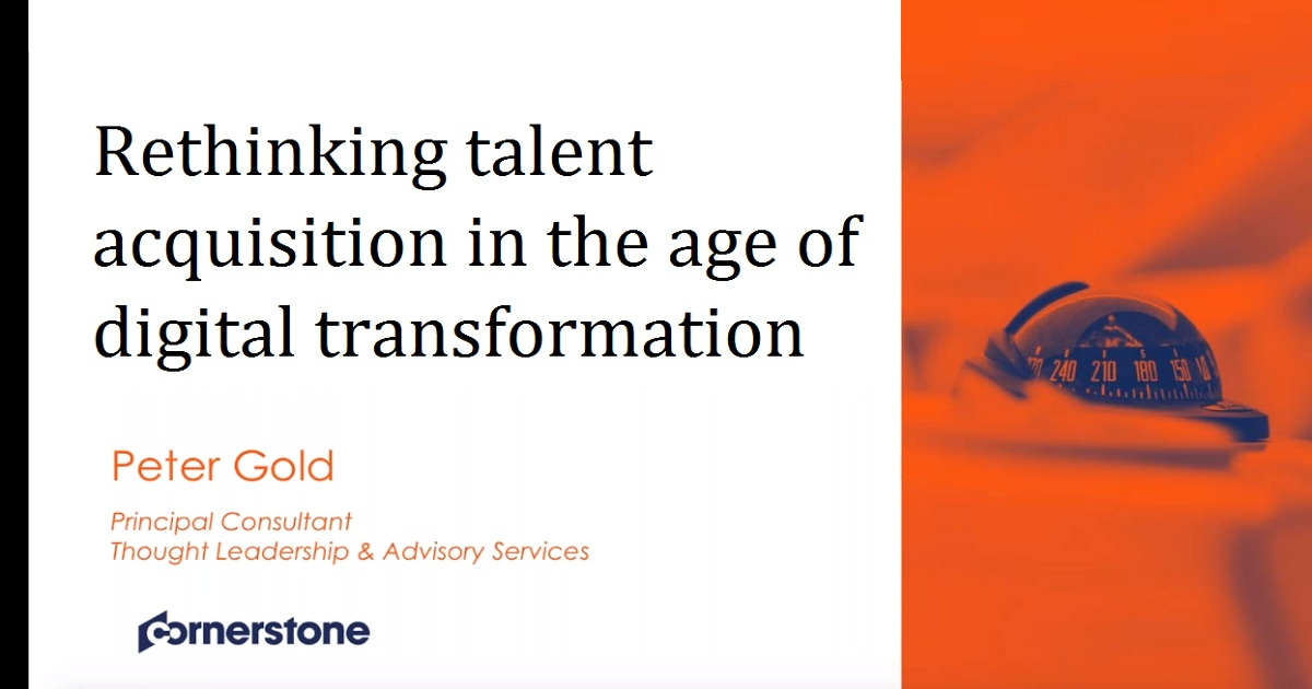 Rethinking talent acquisition in the age of digital transformation