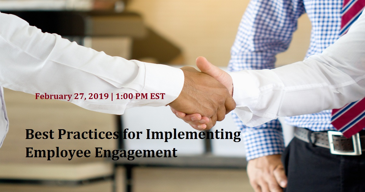 Best Practices for Implementing Employee Engagement