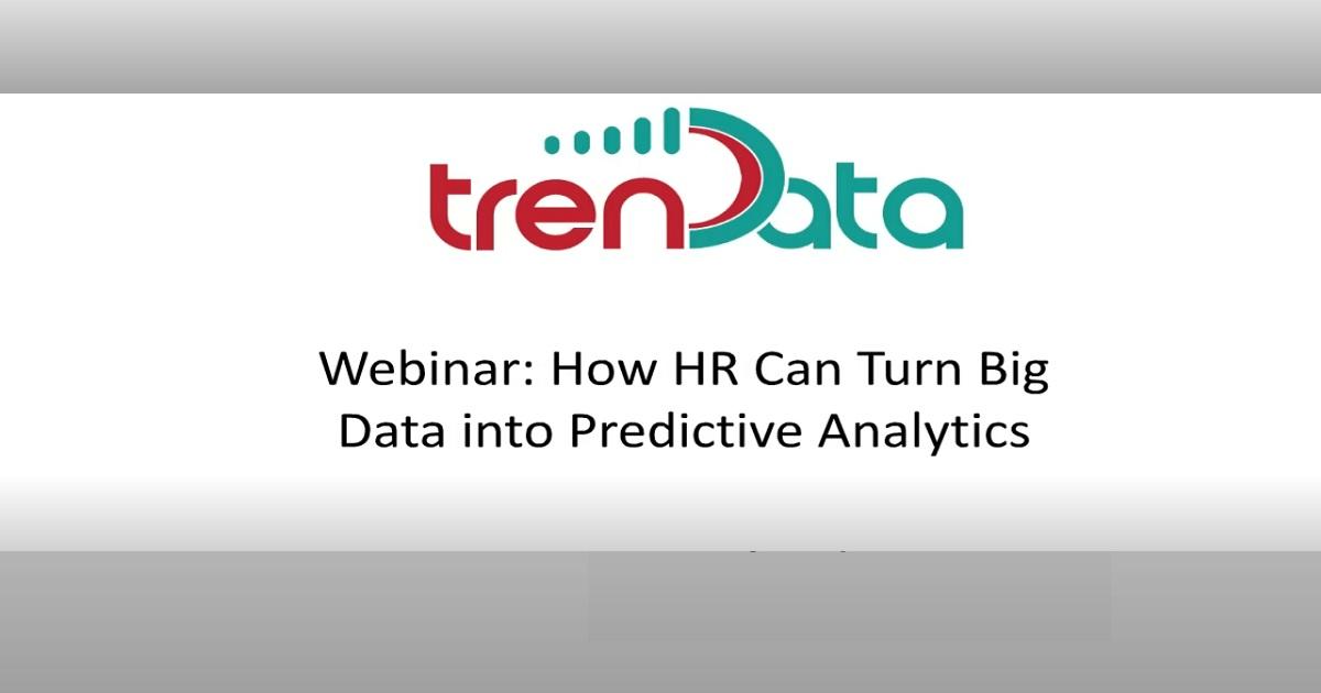 On demand webinars humanresourcesport how hr can turn big data into predictive analytics malvernweather Choice Image