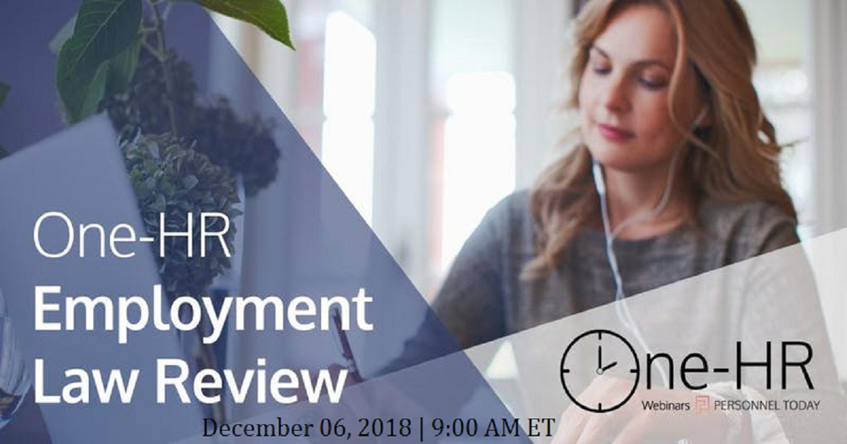One-HR Employment Law Review