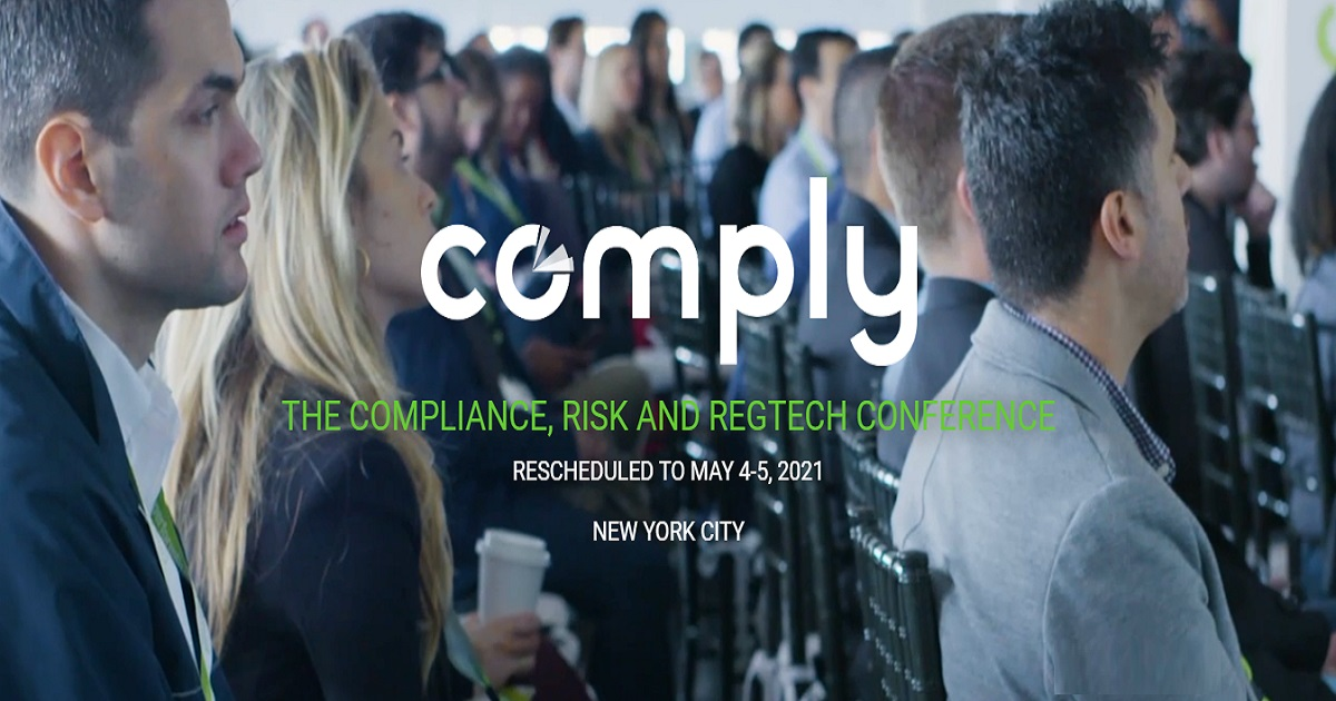 THE COMPLIANCE, RISK AND REGTECH CONFERENCE