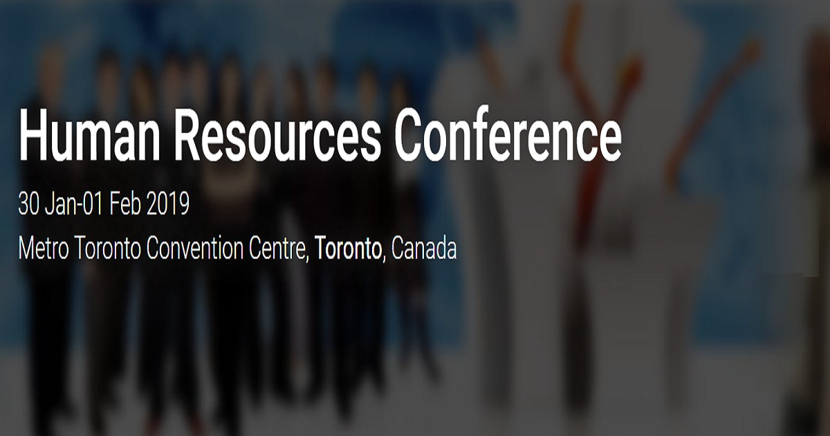 Human Resources Conference | January 30-01, 2019 | Toronto, Canada