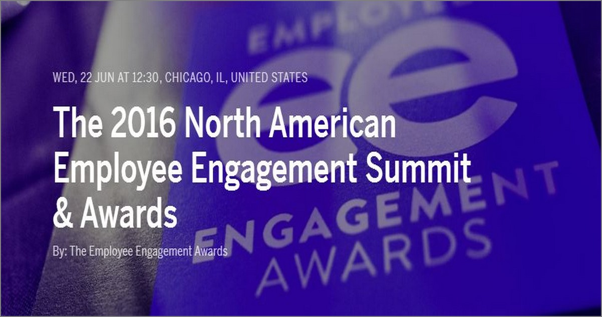 The 2016 North American Employee Engagement Summit & Awards