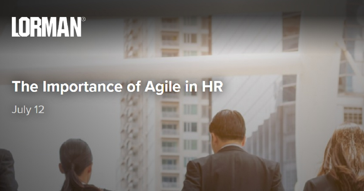 The Importance of Agile in HR