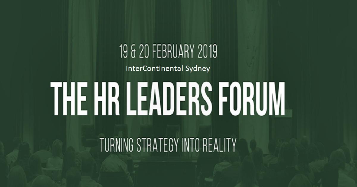 HR Leaders Forum