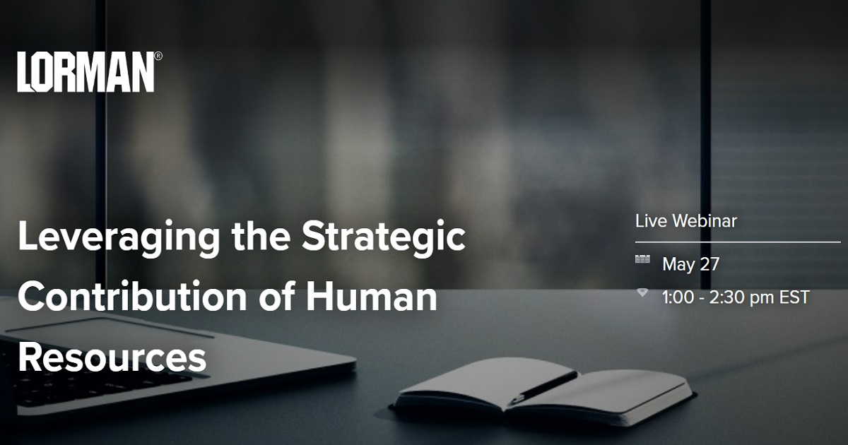 Leveraging the Strategic Contribution of Human Resources