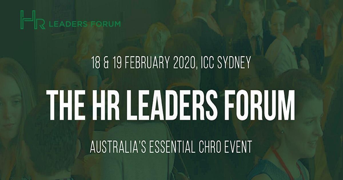 HR Leaders Forum 2020