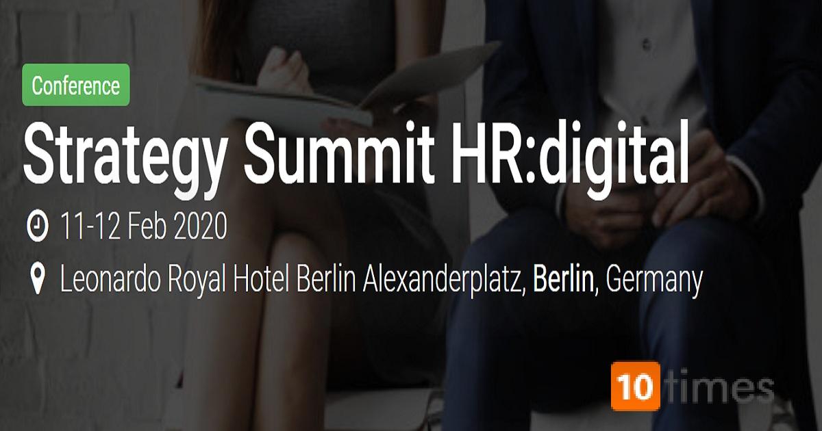Strategy Summit HR: digital 2020