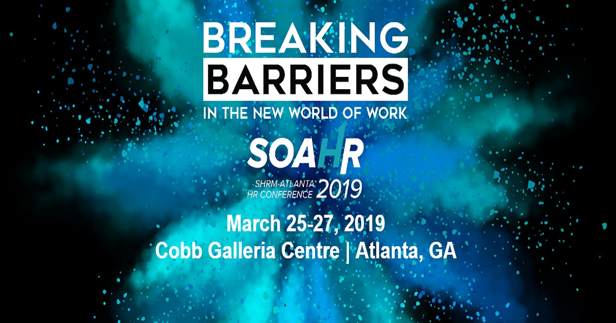 SOAHR SHRM-Atlanta HR Conference 2019 | March 25-27, 2019