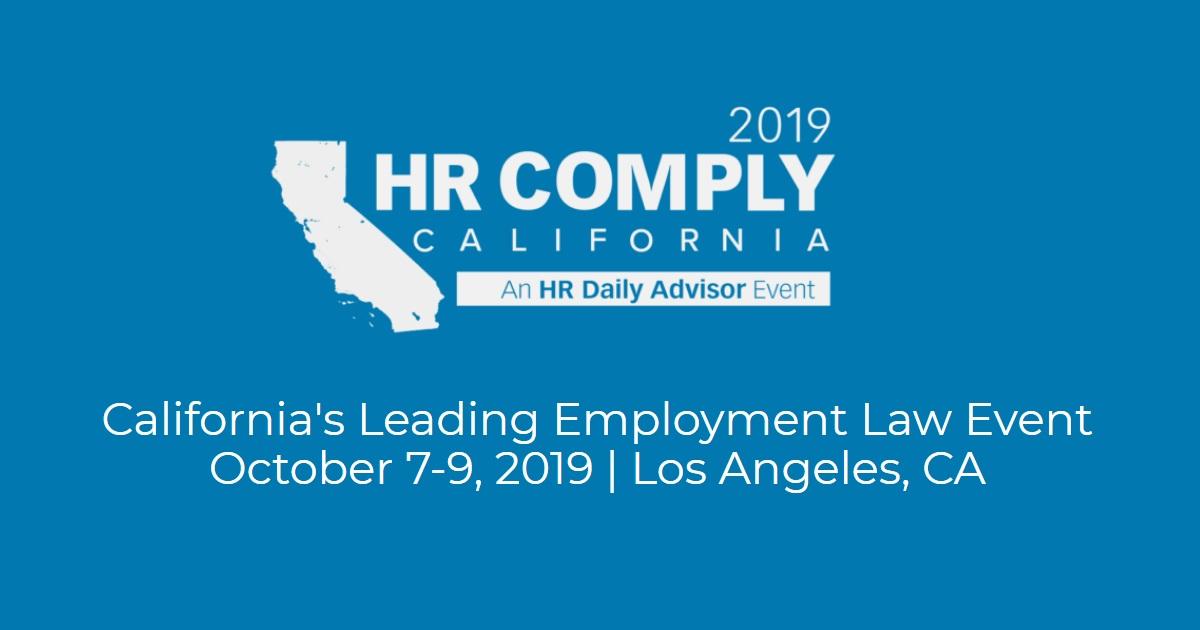 HR Comply California 2019