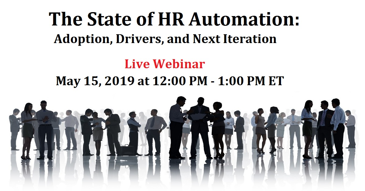 The State of HR Automation: Adoption, Drivers, and Next Iteration
