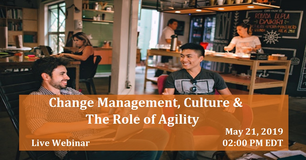 Change Management, Culture & The Role of Agility