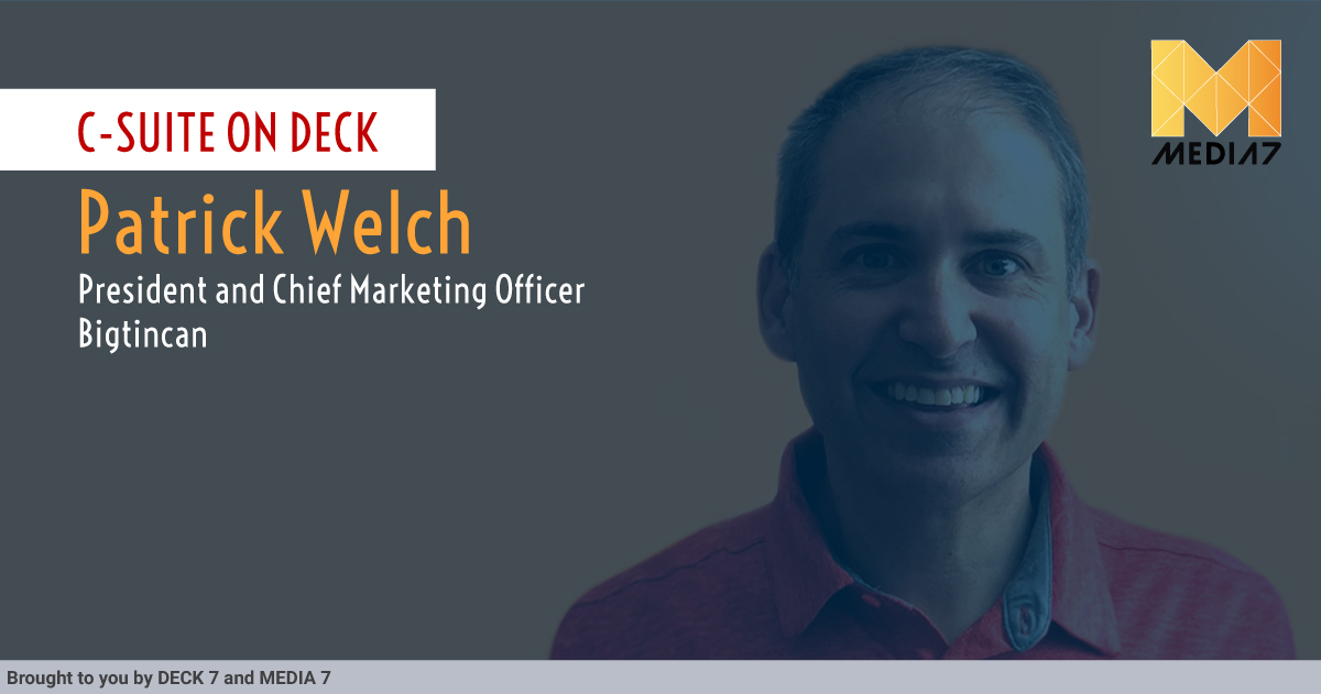 Q&A with Patrick Welch, President & CMO at Bigtincan